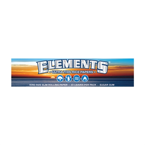 Elements King Size Slim Jointpapir