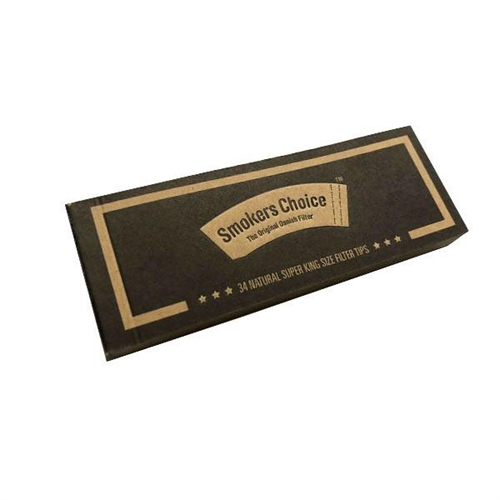 Smokers Choice Super King Size Brown Blunt Tips