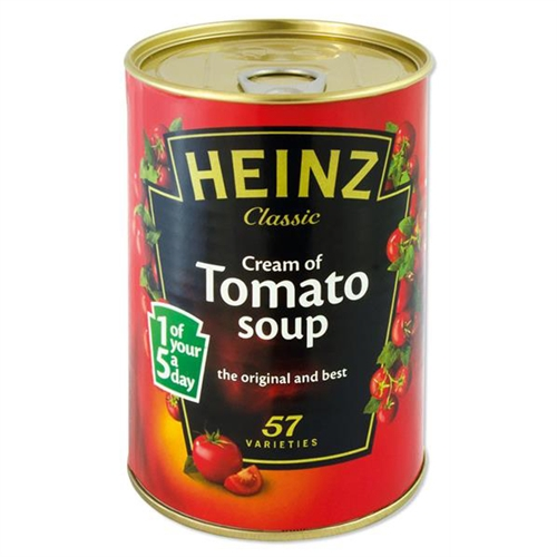 Stash Can Heinz Tomatsuppe