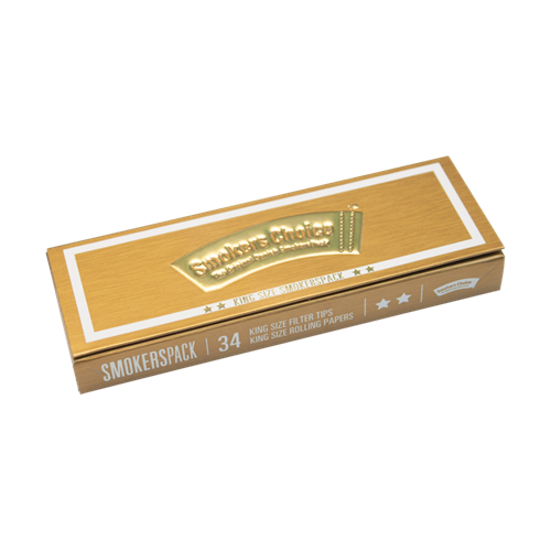 Smokers Choice SmokersPack King Size Gold