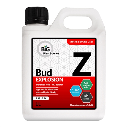 Z Bud Explosion Big Plant Science