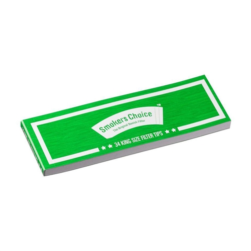 Smokers Choice King Size Green Filter Tips